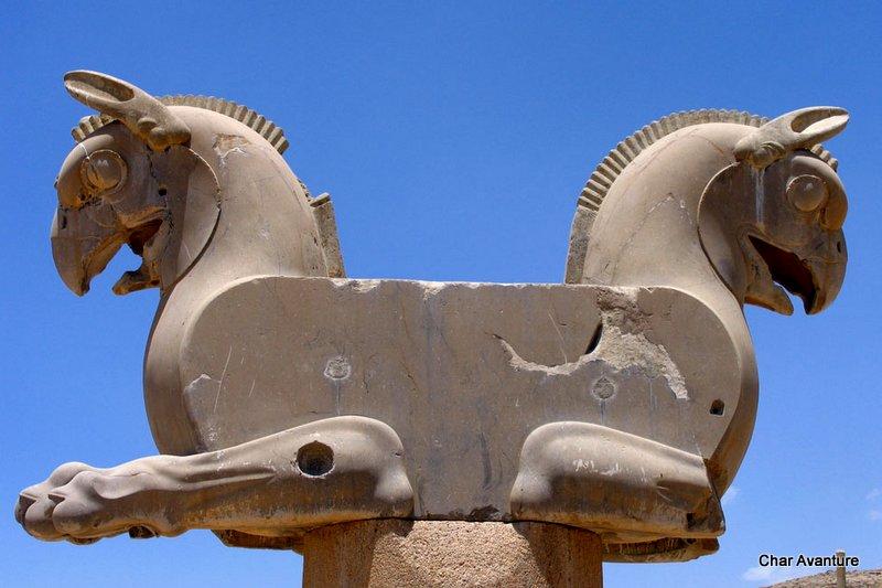 19. skulpture starega perzepolisa