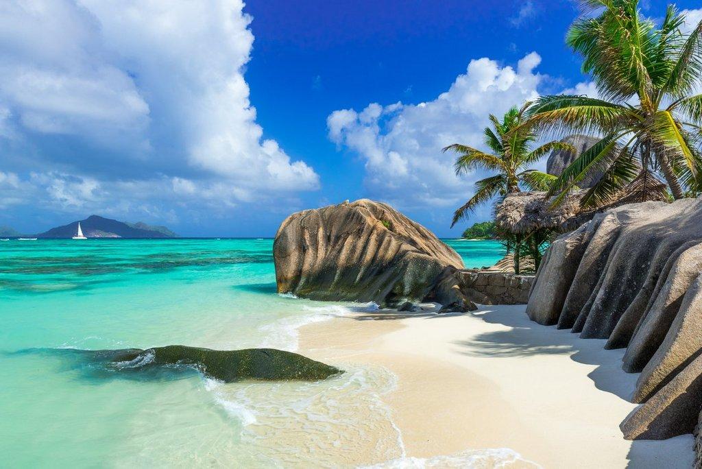 Sejšeli plaža