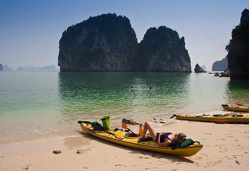 plaža_Halong_Bay