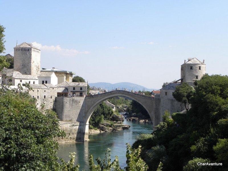 19.Mostar znameniti kamniti most kula Tara in kula Halebija-001