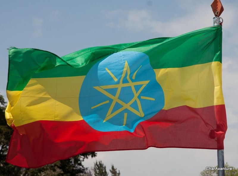 01. etiopijska barvita zastava