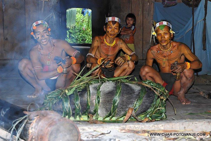 22. shamanski obred je tudi oravicilo naravi