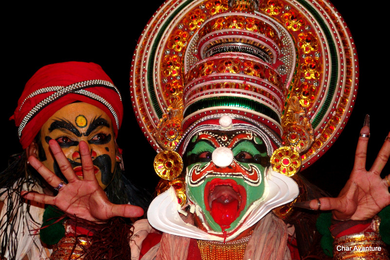 21.tradicionalni indijski ples Kathakali